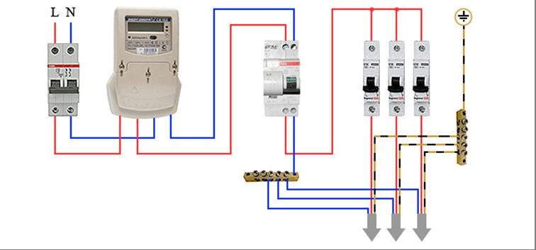 Цепи подключения автоматических выключателей схемы подключения