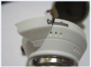 Механические повреждения энергосберегающих ламп