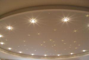 Светильники в виде звезд