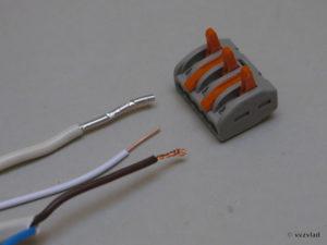 Соединение медных и алюминиевых проводов с помощью WAGO