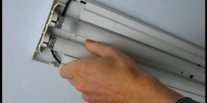 Как зажечь лампу дневного света