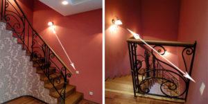 Размещение проходного выключателя на лестнице