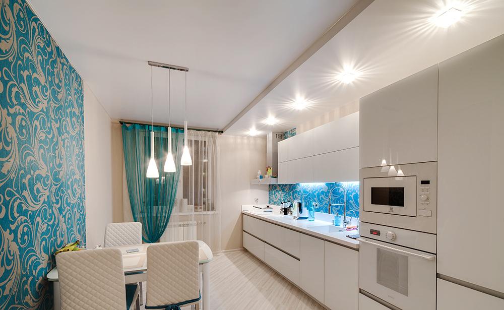 Как лучше на кухне сделать комнату и кухню