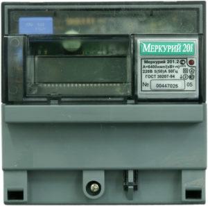 Меркурий 201 цифровой
