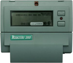 Счетчик меркурий 200 многотарифный