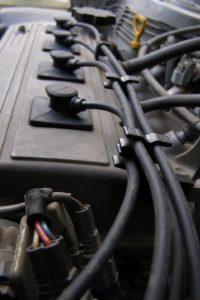Подключение высоковольтных проводов к автомобилю