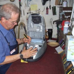 Разборка и ремонт пылесоса