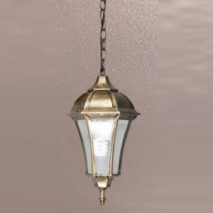 Виды подвесных светильников для освещения участка