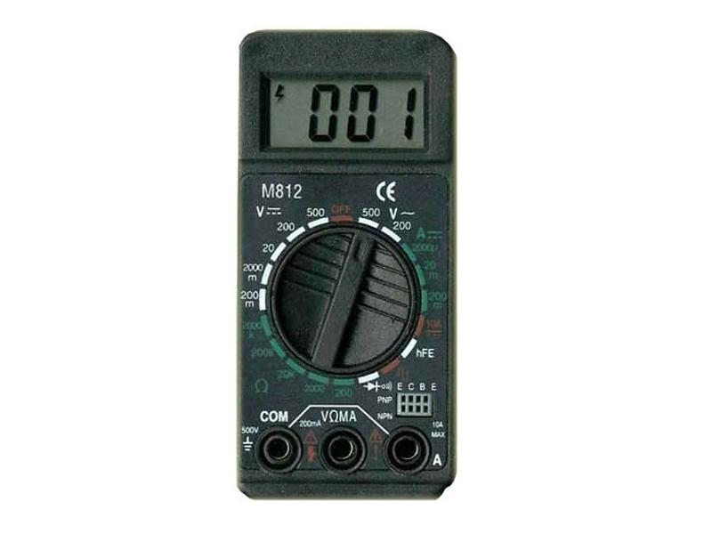 Мультиметр схема m812