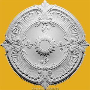 Розетка из полиуретана Медальон