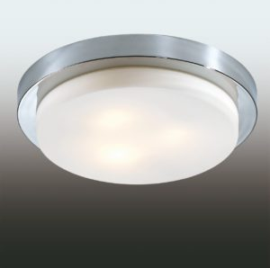 Крепление потолочного накладного светильника