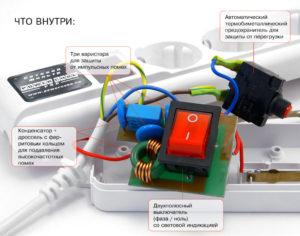 Защита сетевого фильтра от перегруза