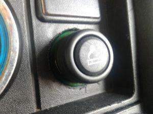 Вид прикуривателя в старых машинах