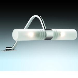 Внешний вид настенного светильник в ванной