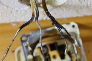 Замена сгоревшего выключателя