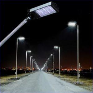 Светодиодные светильники для освещения дорог