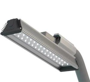 Светодиодный светильник на столб