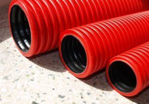 Полиэтиленовая труба для прокладки провода в земле