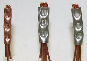 Соединение проводов обжимом