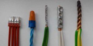 Способы соединения проводов
