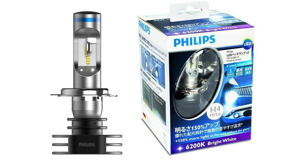 Светодиодные лампы для автомобиля h1 филипс