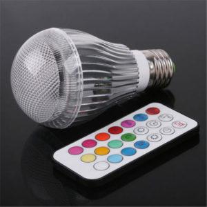 LED лампы с встроенным диммером и дистанционным управлением