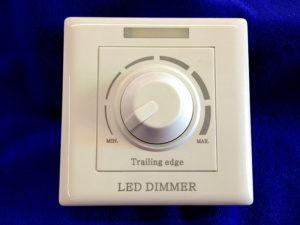 Диммер для светодиодных ламп с механическим регулятором