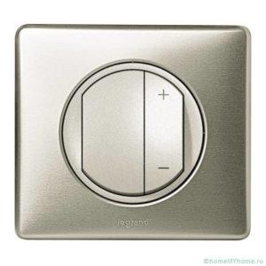 Диммирование светодиодных ламп с помощью кнопочного регулятора