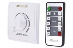 Диммирование светодиодных ламп с помощью пульта дистанционного управления