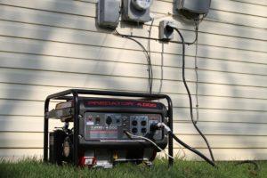 Подключение генератора для дачи