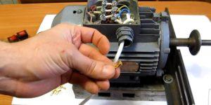 Способ монтажа электродвигателя